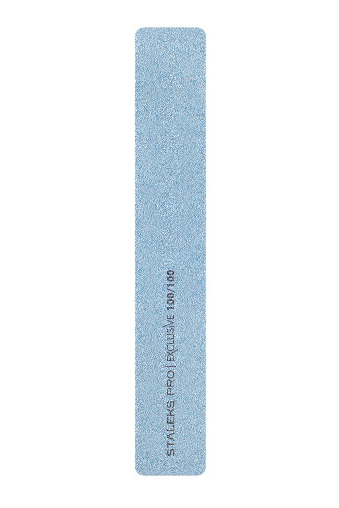 Пилка для ногтей минеральная (широкая) Staleks Pro Exclusive 32, 100/100 грит (Арт. NFX-32/4)