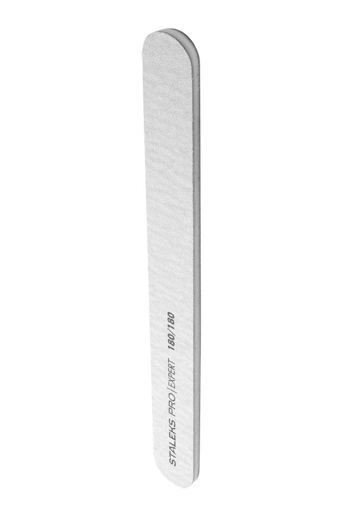 Пилка для ногтей, минеральная (прямая), Staleks Pro Expert, 180/180 (Арт. NFB-20/6)