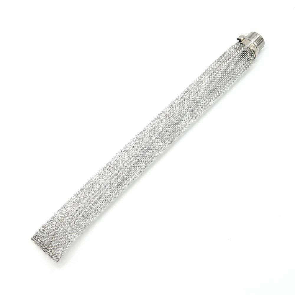 Фильтр базука 30 см, нержавеющая сталь 304. Резьба 1/2