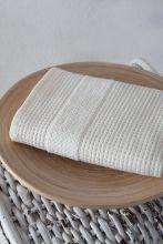 Полотенце махровое TRUVA 40*60  (кремовое) Арт.3166-5
