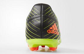 Детские бутсы adidas Messi 15.3 FG/AG Junior салатово-чёрные