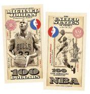 100 долларов (USA Dollars) — США. Майкл Джордан (Michael Jeffrey Jordan). UNC