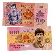 100 юаней (China Yuan ) — Китай. Брюс Ли (Bruce Lee). UNC