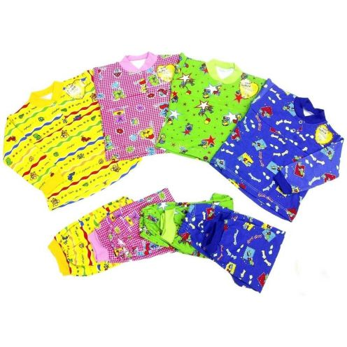 Пижама с кокеткой интерлок C-PJ023(2)-ITp
