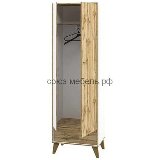 Молодёжная Сканди (Шкаф навесной МН-036-05+Стол МН-036-25+Шкаф МН-036-11+Кровать МН-036-21+Шкаф МН-036-09 )