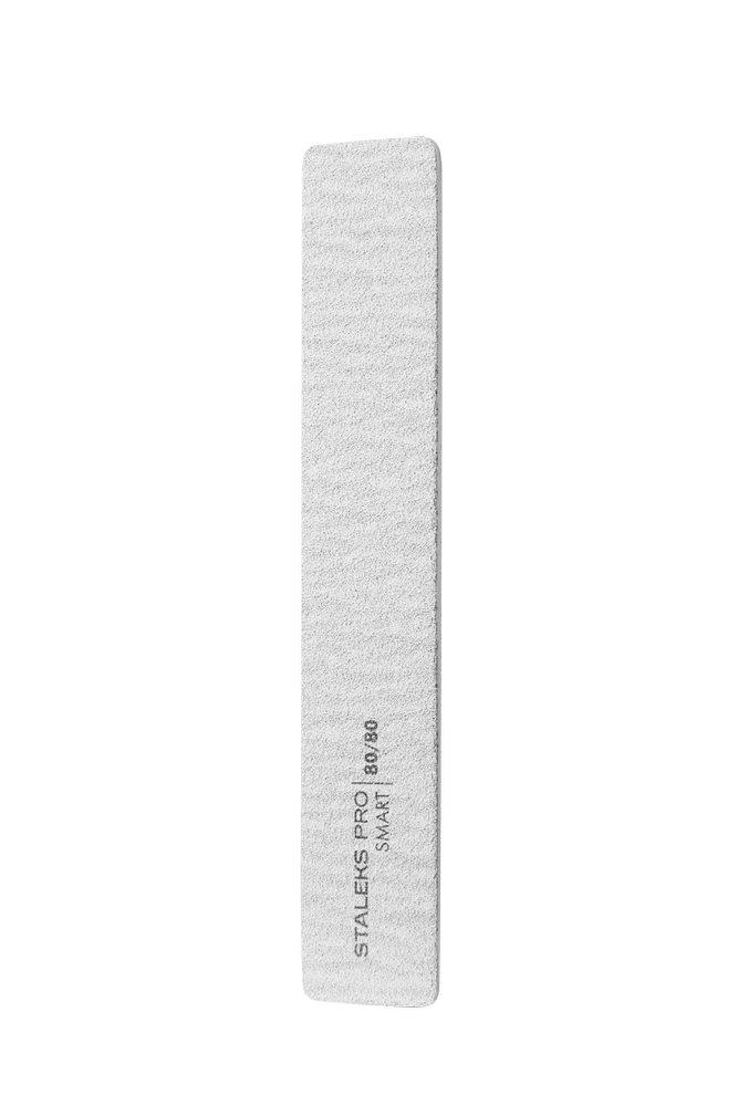 Пилка для ногтей минеральная (широкая прямая), Staleks Pro SMART (5шт.), 80/80 грит (Арт. NFB-31/3)
