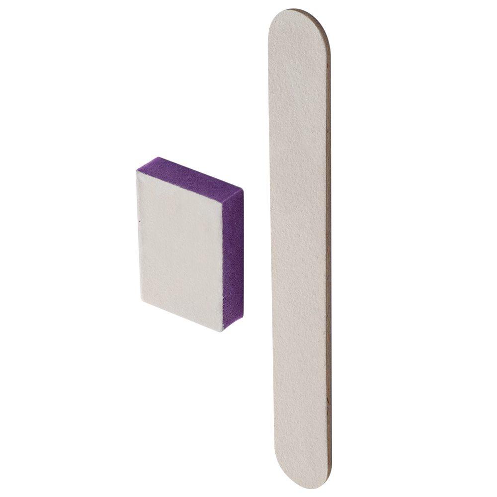 Одноразовый набор для маникюра и педикюра Staleks Pro SMART (пилка для ногтей 100/180 И баф для ногтей 180/240) (Арт. NFS-20)