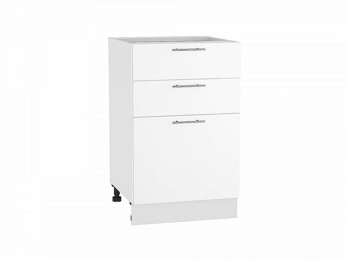 Шкаф нижний Валерия Н503 белый глянец