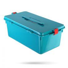 Контейнер-МК-04 / для предварительной дезинфекции / бирюзовый /7,5 л