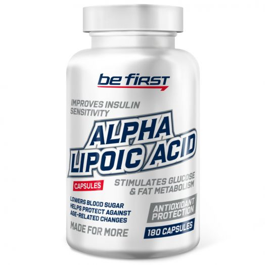 Alpha Lipoic Acid (альфа-липоевая кислота) 180 капсул