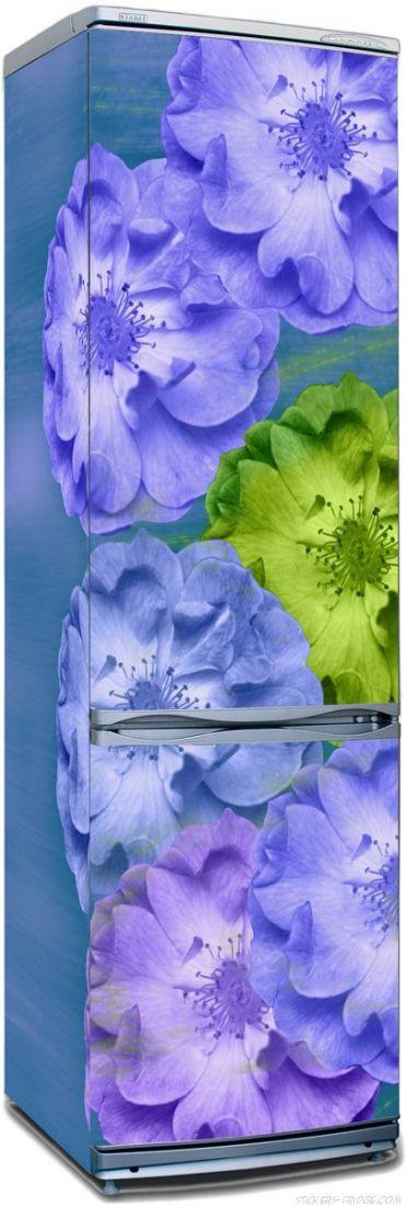 Наклейка на холодильник - Игра цвета