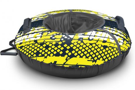 Тюбинг принтованный ТБ2К-70/32 Nika sport лимон