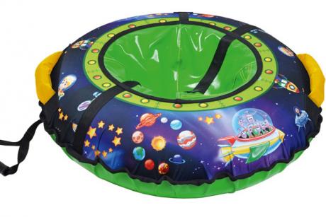 Тюбинг с круговым дизайном ТБ3К-70/П2 с пришельцы