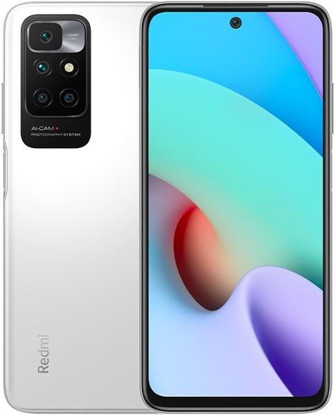 Смартфон Xiaomi Redmi 10 4/64GB RU, белый