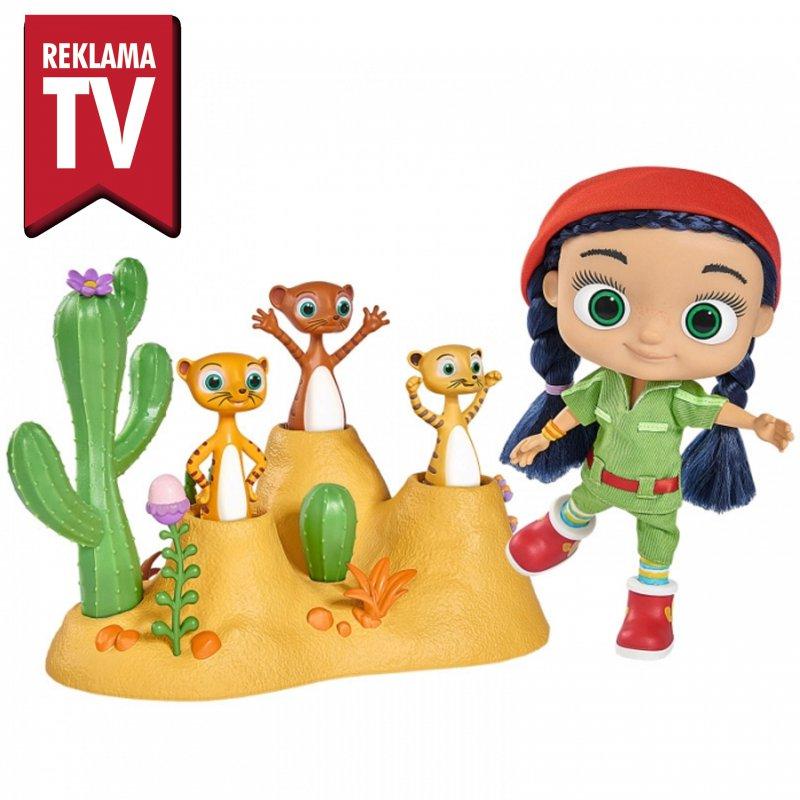 Кукла Wissper Мир Пустыни + 3 Фигурки Сурикатов Simba 9358318