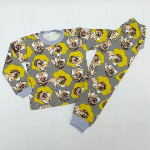 Пижама бульдог футер C-PJ023-ITn