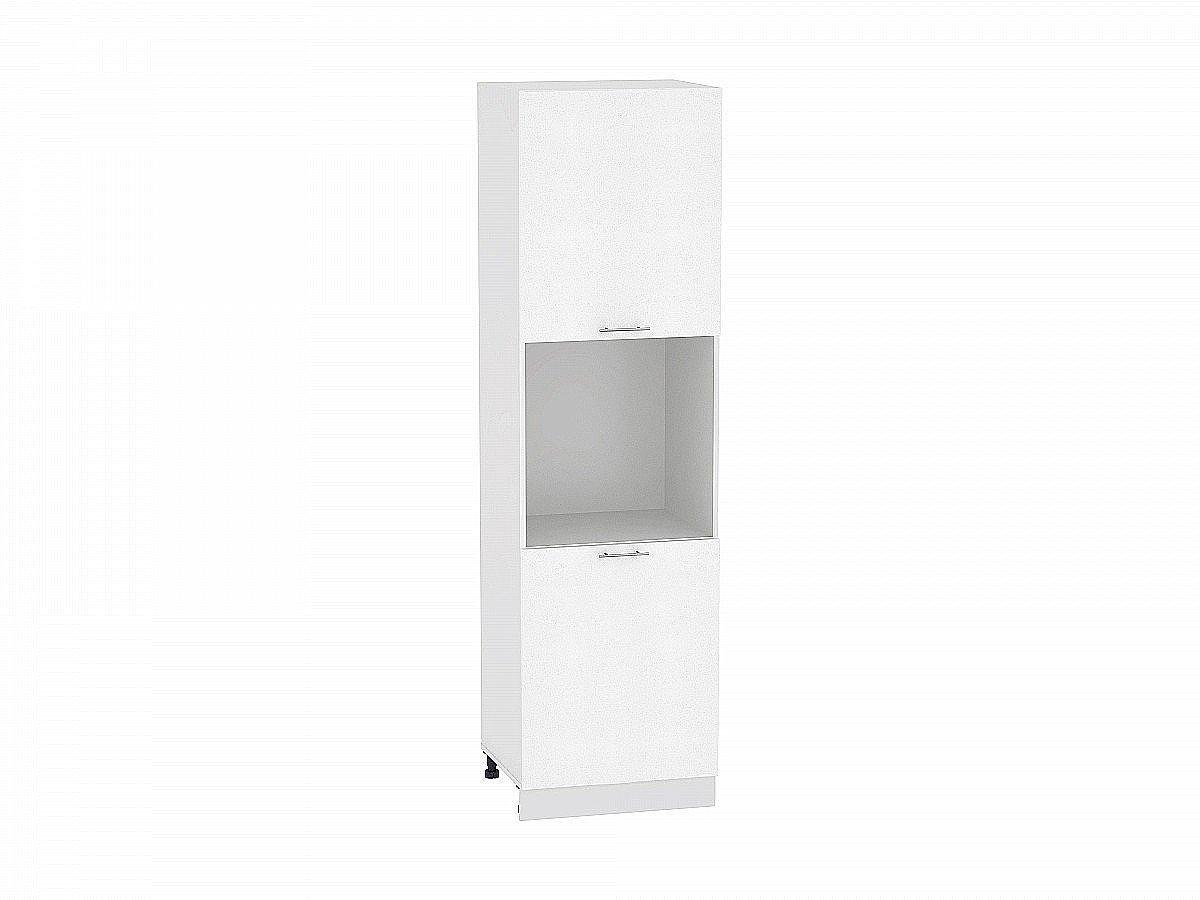 Шкаф пенал с 2-мя дверцами Валерия ШП600-Ф47 белый глянец
