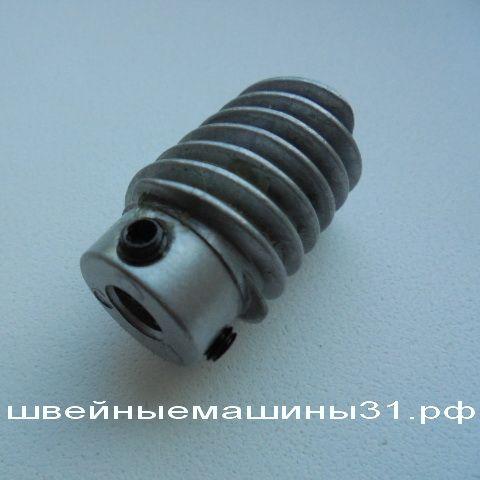 Элемент червячной передачи brother rs диаметр вала 6 мм.; диаметр максимальный 17.5 мм. резьба трёхзаходная  цена 800 руб.