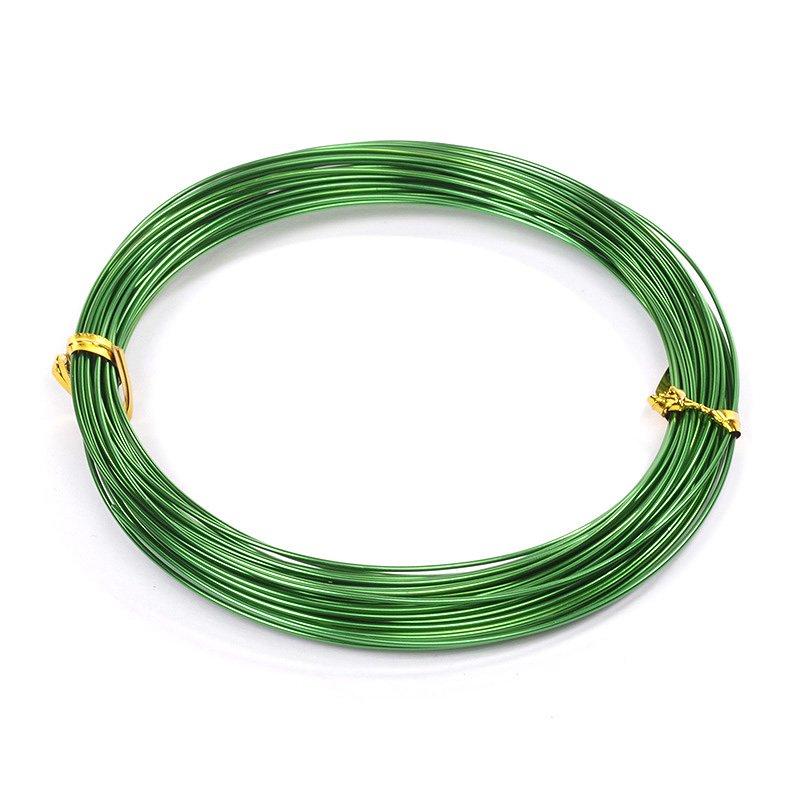 фото Проволока Ø 1мм рулон 10 м. Зеленый (ТВ-ALW-1.25)