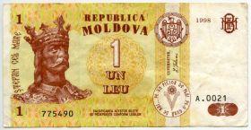 Молдова 1 лей 1998
