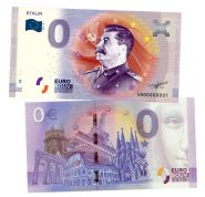 0 ЕВРО - STALIN (Сталин И.В.). Памятная банкнота