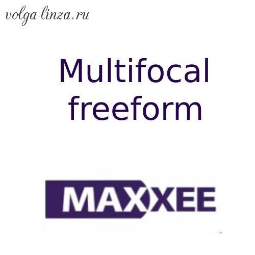 Maxxee Freeform Multifocal- прогрессивный дизайн по Freeform технологии