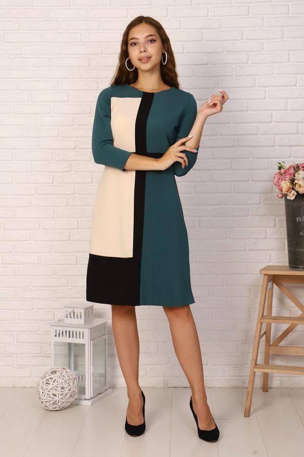 Платье 39507 [зеленый]