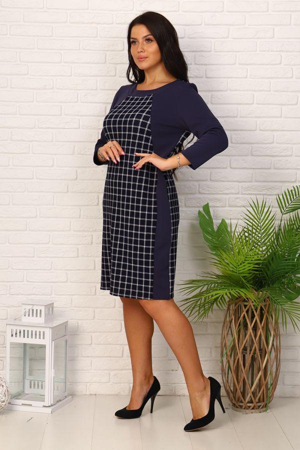 Платье 39506 [синий]