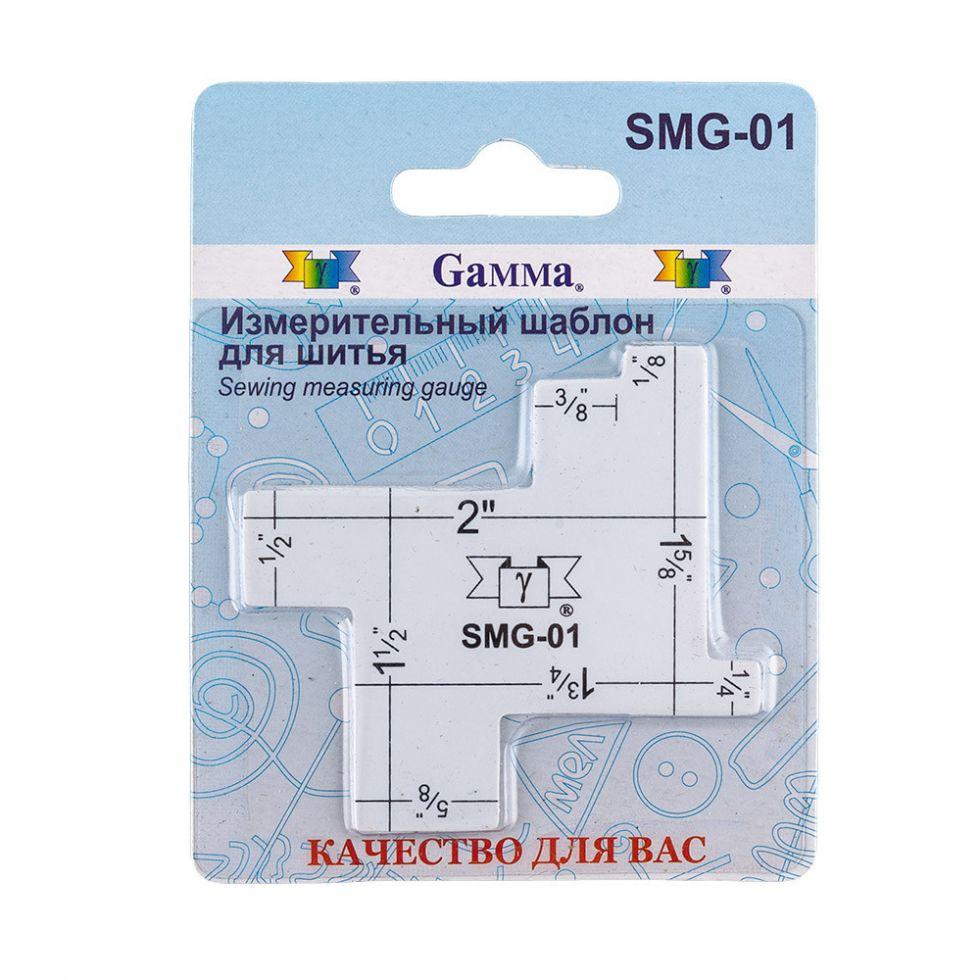 """Gamma"""" SMG-01 Измерительный шаблон пластик в блистере для шитья.   Цена 85 руб"""