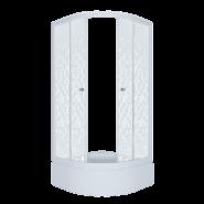 Душевой уголок Triton Стандарт Мозаика В1 90x90, средний поддон
