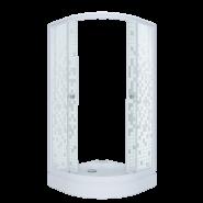 Душевой уголок Triton Стандарт Мозаика А1 90x90, низкий поддон