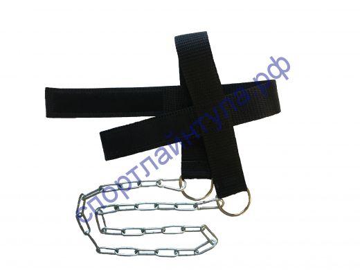 Суппорт-лямка для тренировки мышц шеи (стропа) арт. SL02
