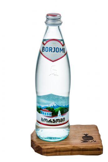 Боржоми минеральная вода 1 л. пластик