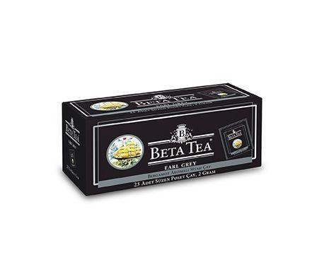 Чай Beta Earl grey пакетик 24 шт