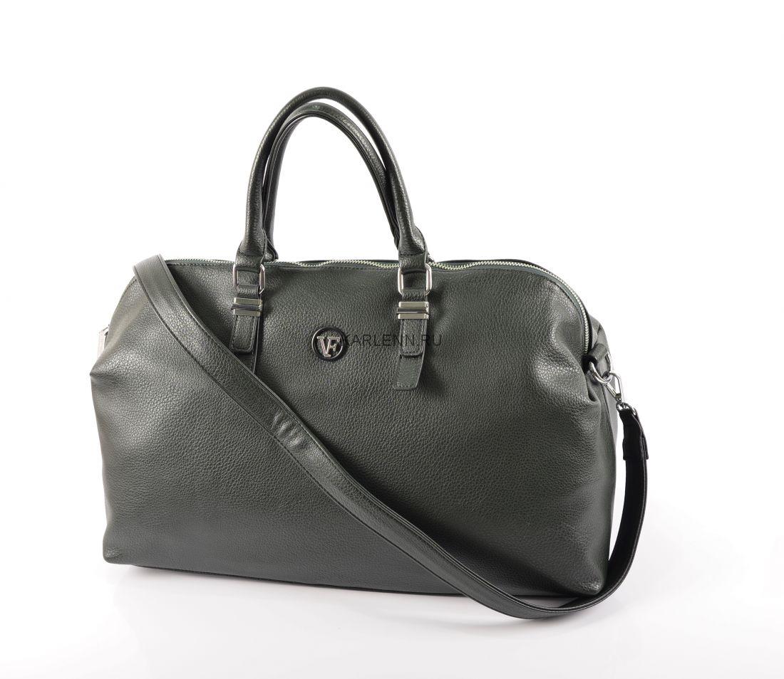 Дорожная сумка / для фитнеса Velina Fabbiano (зелёная)