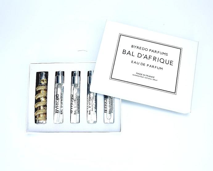 Набор парфюма Byredo Bal D'Afrique 5х12 мл (змея)