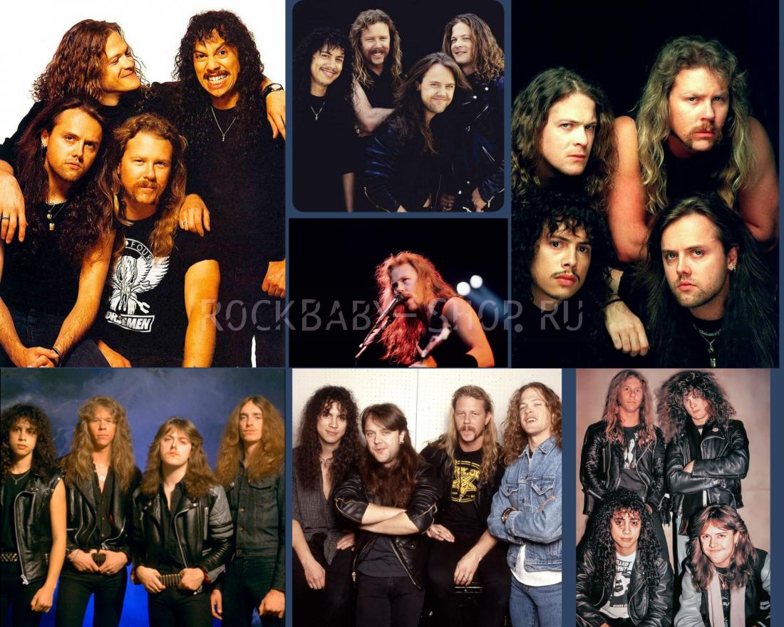 Стикерпак без резки Metallica а5