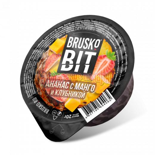 Бестабачная смесь Brusko Bit (Ананас с манго и клубникой) 20гр