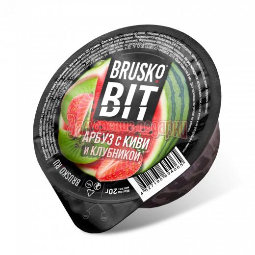 Бестабачная смесь Brusko Bit (Арбуз с киви и клубникой) 20гр