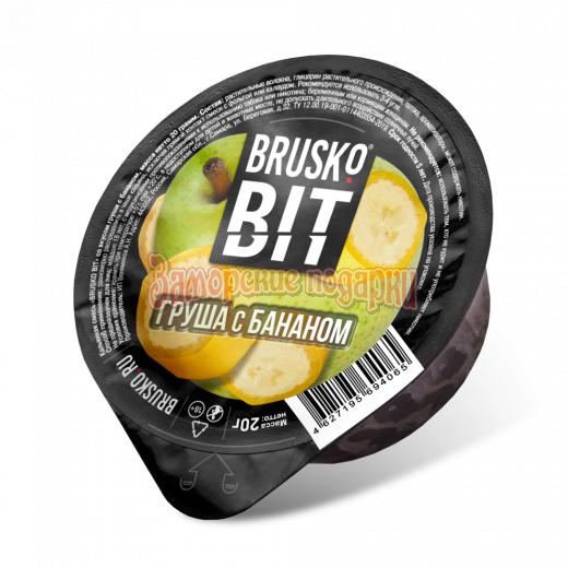 Бестабачная смесь Brusko Bit (Груша с бананом) 20гр