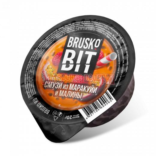 Бестабачная смесь Brusko Bit (Смузи из маракуйи и малины) 20гр