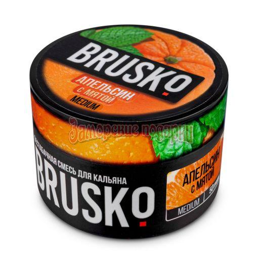Бестабачная смесь Brusko (Апельсином и Мятой) 50гр