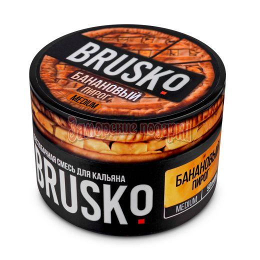 Бестабачная смесь Brusko (Банановый пирог) 50гр
