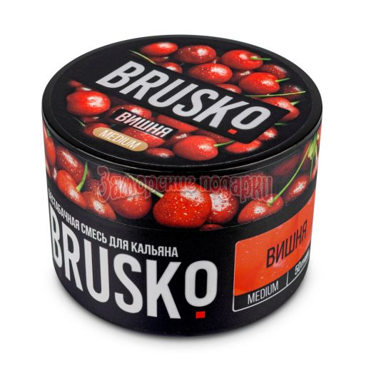 Бестабачная смесь Brusko (Вишня) 50гр
