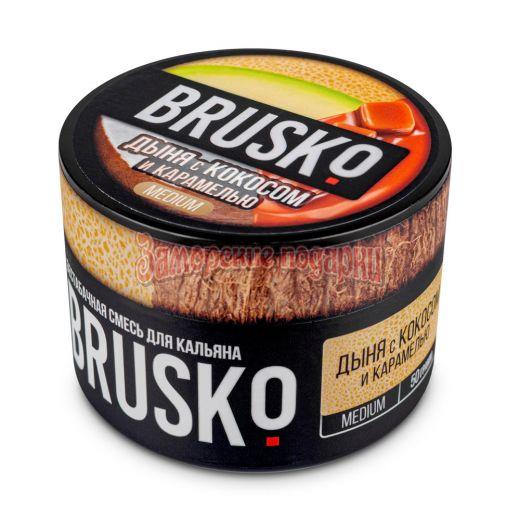 Бестабачная смесь Brusko (Дыня с кокосом и карамелью) 50гр