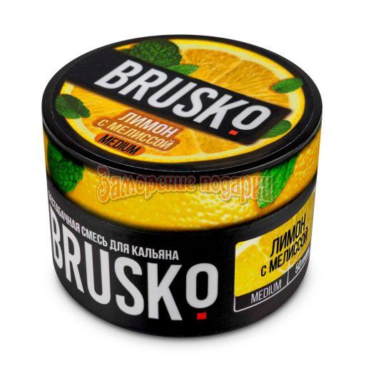 Бестабачная смесь Brusko (Лимон с мелиссой) 50гр
