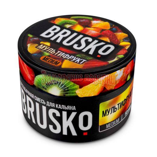 Бестабачная смесь Brusko (Мультифрукт) 50гр