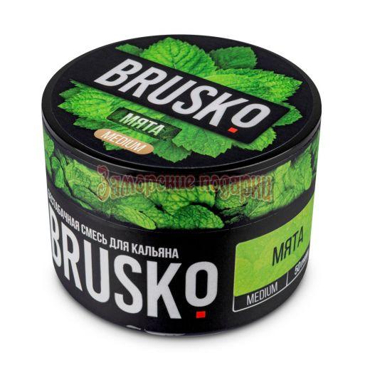 Бестабачная смесь Brusko (Мята) 50гр