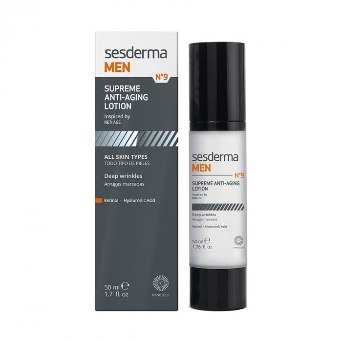SESDERMA MEN Supreme anti-aging lotion – Лосьон антивозрастной для мужчин, Sesderma (Сесдерма) 50 мл