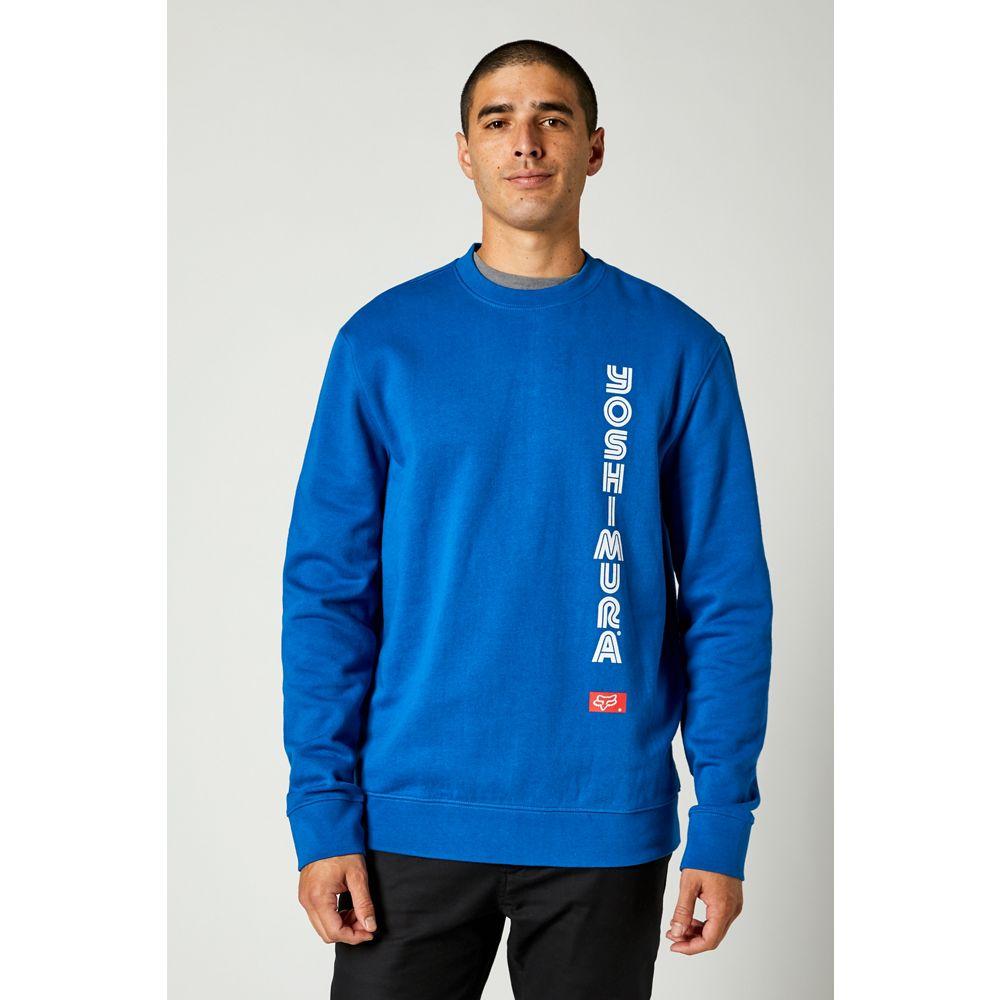 Fox Yoshimura Crew Fleece Royal Blue толстовка